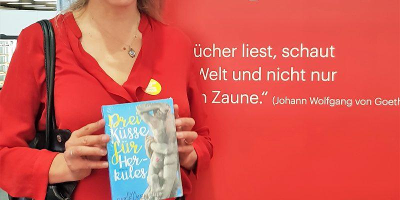 """Die """"Drei Küsse"""" auf der Frankfurter Buchmesse 2018"""