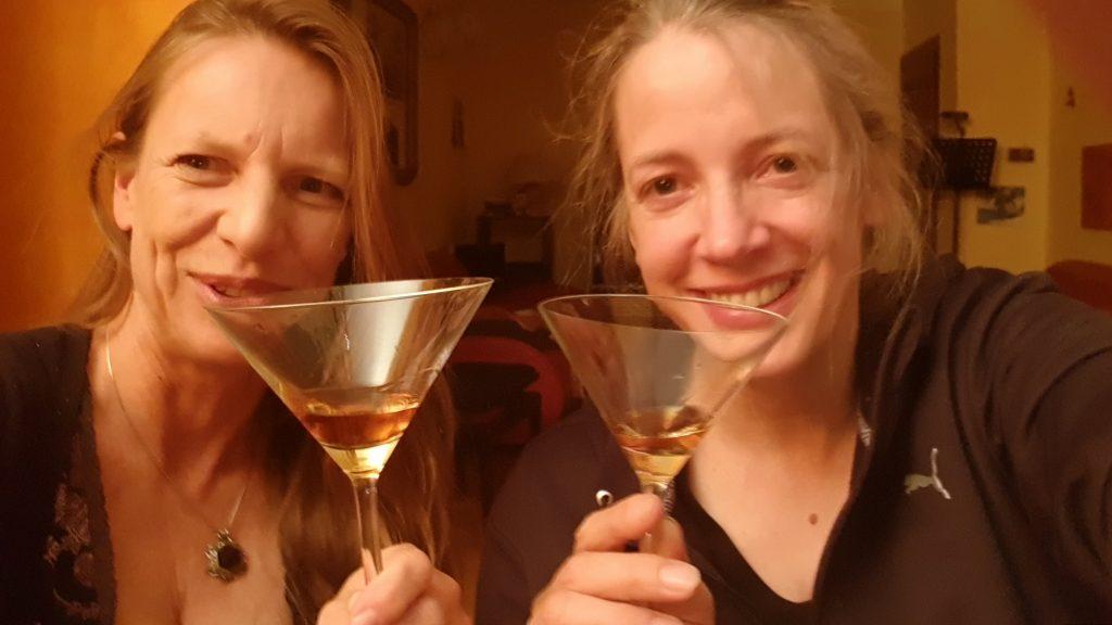Bild von Eva und Freundin Cara