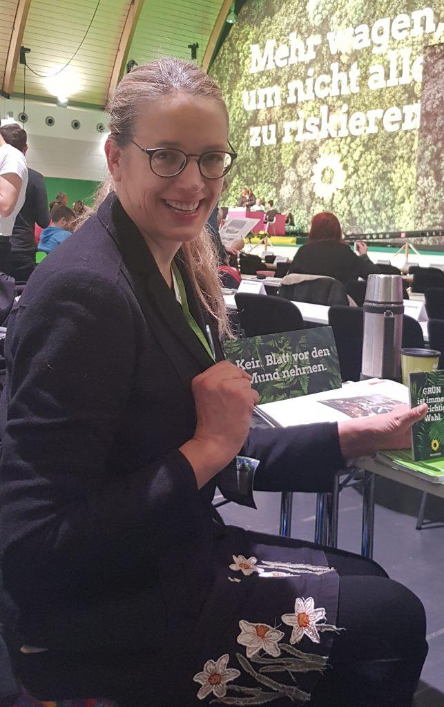 Eva Engelken  sls BDK-Delegierte darf ich Anträge stellen und abstimmen