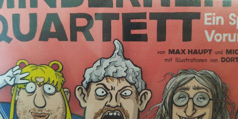 """Bild und Kauftipp """"Minderheitenquartett"""" von Der Postillon, ein Must-Have für besorgte Identitätspolitikeri*nnininnen"""