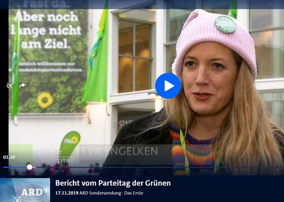 Eva Engelken als Delegierte bei der BDK 2019 in Bielefeld