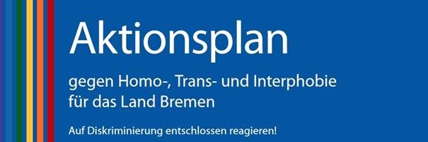 Logo Aktionsplan gg Homo- und Transphobie